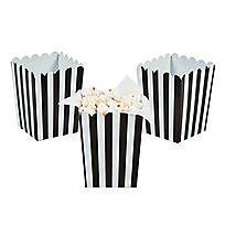 Black & White Striped Gossamer Roll | Oriental Trading