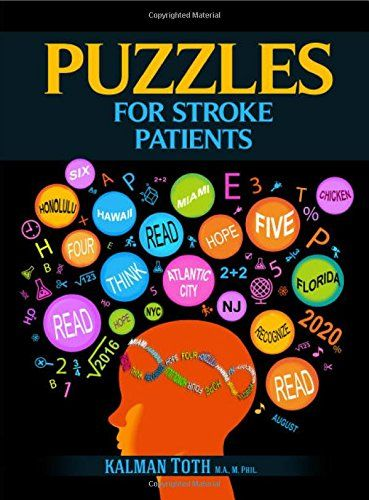 Puzzles For Stroke Patients By Kalman Toth Http Www Amazon Com