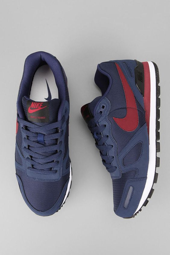 6259975ee6d5 ... uk nike air waffle trainer sneaker tags sneakers low tops mid blue red  68215 aa424