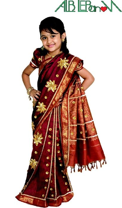 Girl in saree... indian traditional dress - AlbLebanon ...