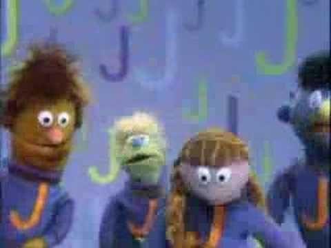Letter J Sesame Street I m pretty sure J Joe Jeans and his
