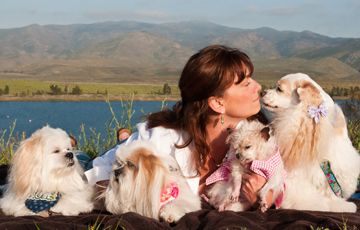 """Author Interview Kelly Preston """"Real Dogs Don't Whisper"""