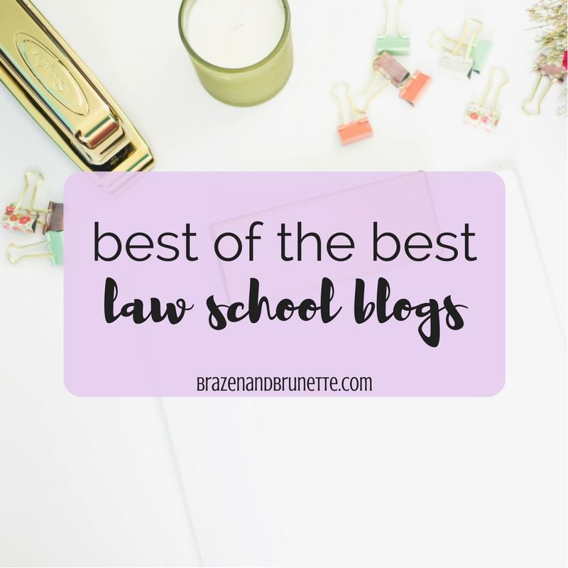 Over 40 law school blogs to read right now to help you concur the LSAT, tackle your law school applications, and be prepared as a 1L | brazenandbrunette.com