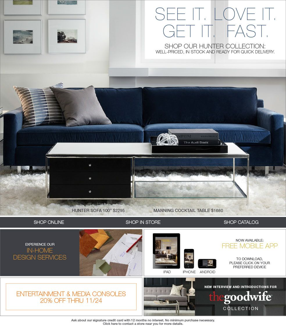 Mitchell Gold + Bob Williams: Classic Modern Home Furnishings