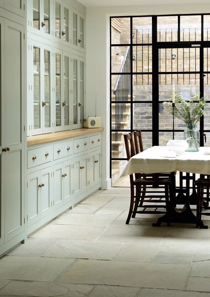 Beautiful floor to ceiling kitchen cabinets | Kitchen ...