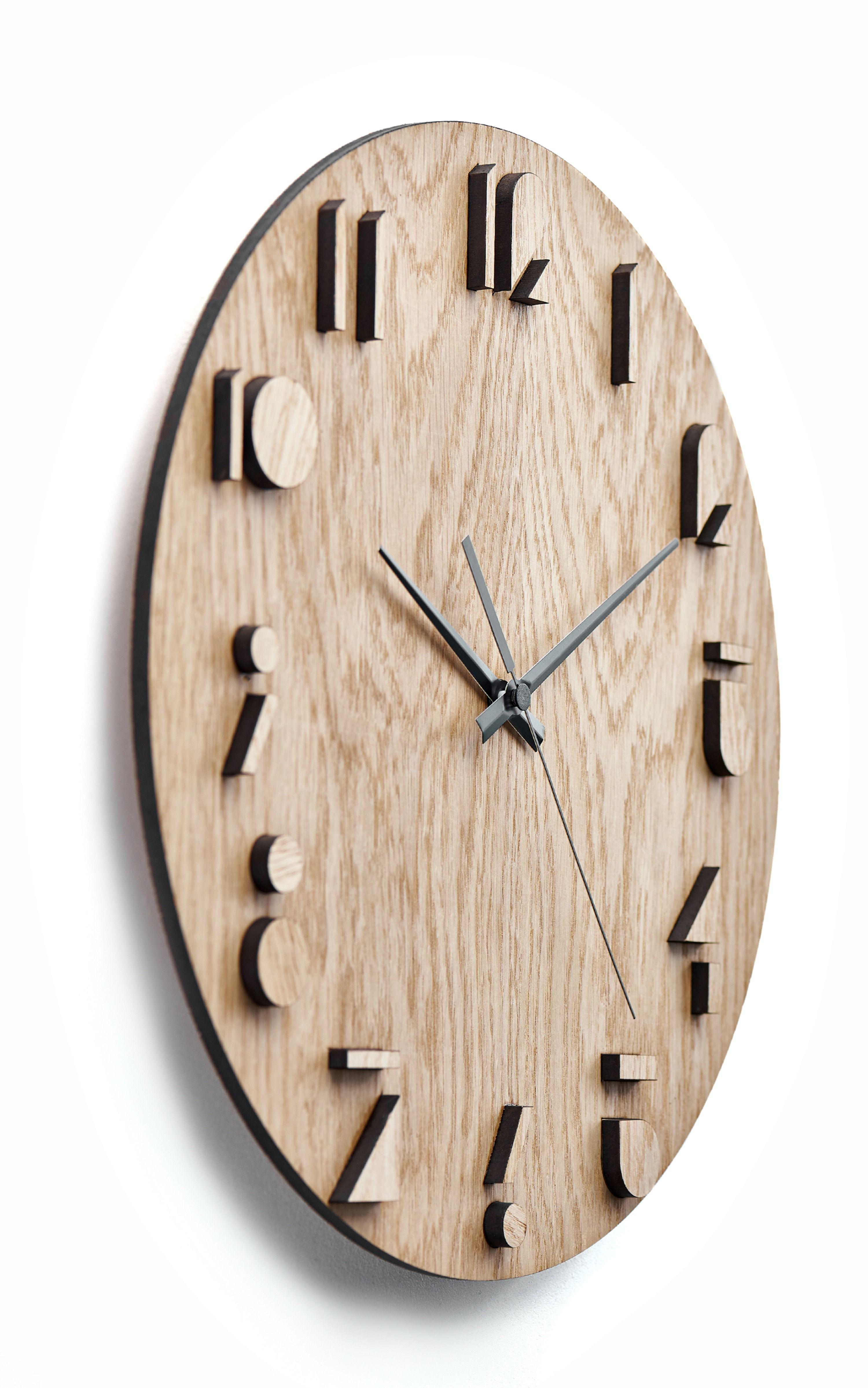 Wooden Wall Clock Moku Katori In 2020 Minimalist Wall Clocks Rustic Wall Clocks Unique Wall Clocks