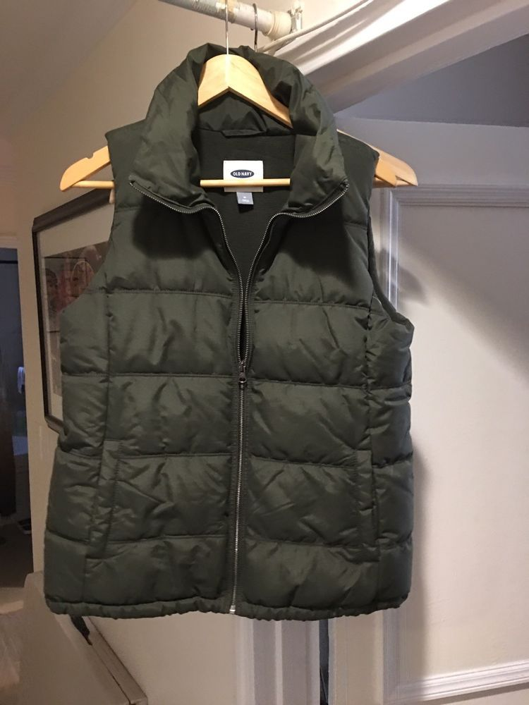 f1510e08183 Old Navy Vest Hunter Green Mens Medium  fashion  clothing  shoes   accessories  mensclothing  coatsjackets (ebay link)