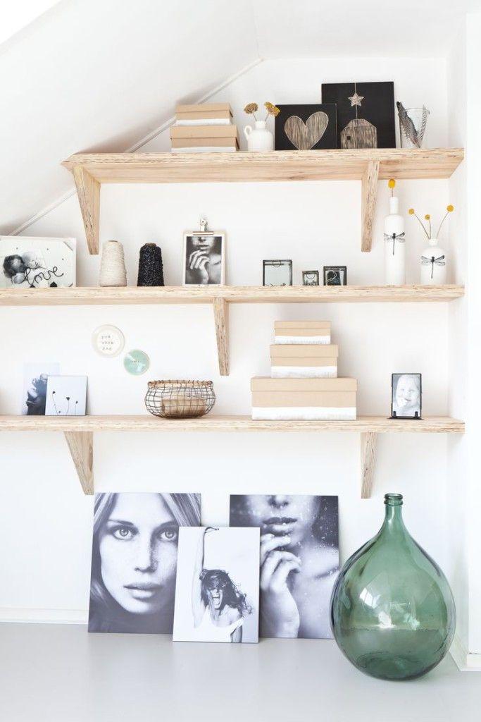 DIY wanddecoratie | Interieur: Woonkamer - Living room | Pinterest ...