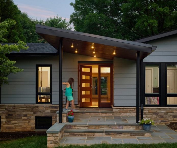 Modern Front Porch Home Design Ideas Pictures Remodel And Decor