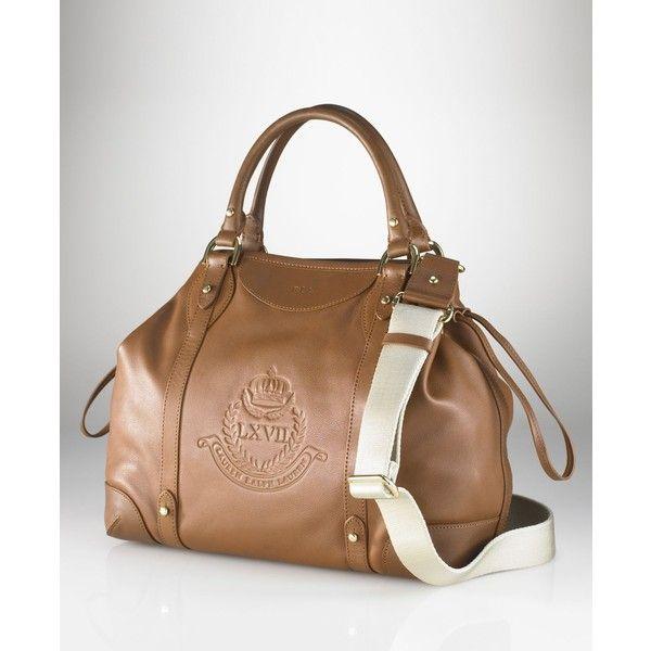Lauren By Ralph Lauren Handbag, Chatsworth Drawstring Bag ($238) found on Polyvore i NEED this bag!