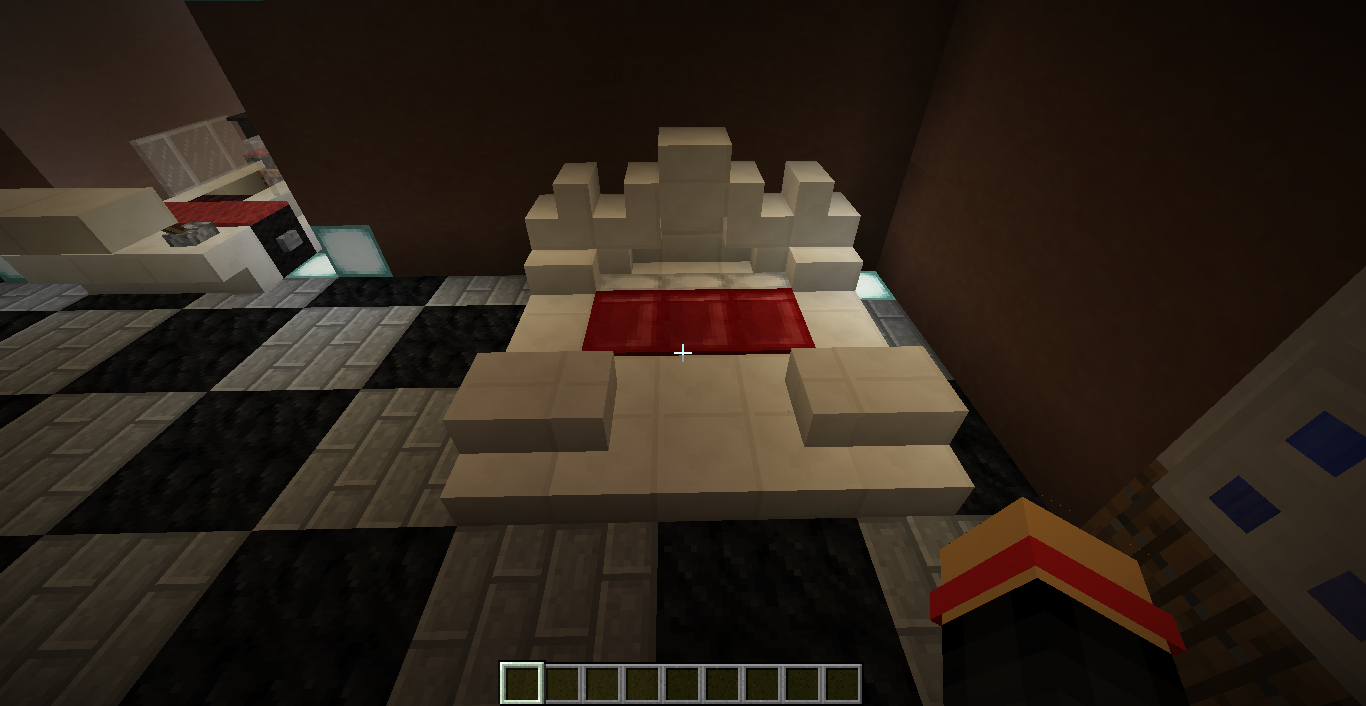 Royal Bed Royal Bed Minecraft Projects Home Decor