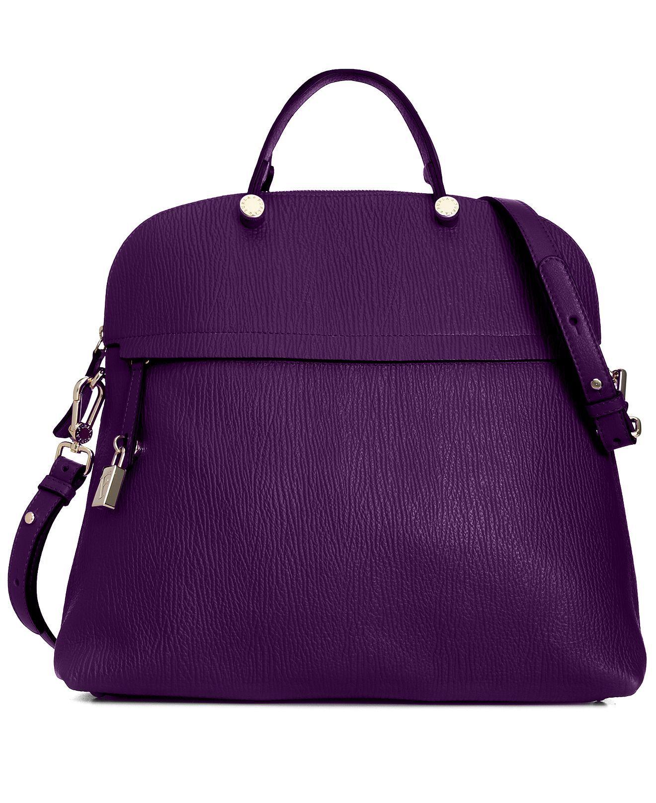 Furla Handbag, Piper Bugatti Medium Satchel - Handbags & Accessories -  Macy's
