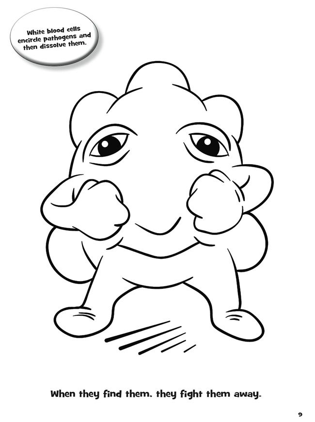 Welcome To Dover Publications Giant Microbes Cells Coloring Books Dover Coloring Pages Coloring Pages