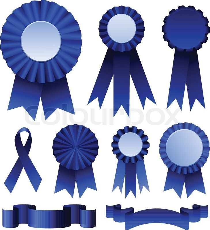 Printable Blue Ribbon