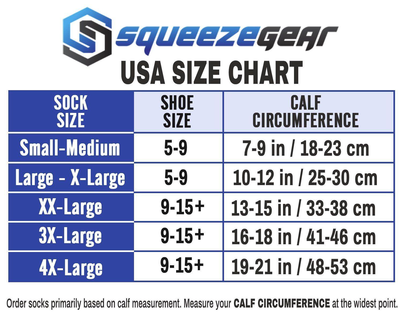 Squeezegear Graduated Compression Socks 20 30mmhg 3 Pairs Squeeze Gear In 2020 Compression Socks Compression Socks Mens Compression