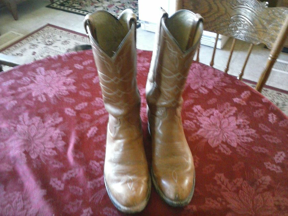 Dan Post 100% Leather Cowboy Boots