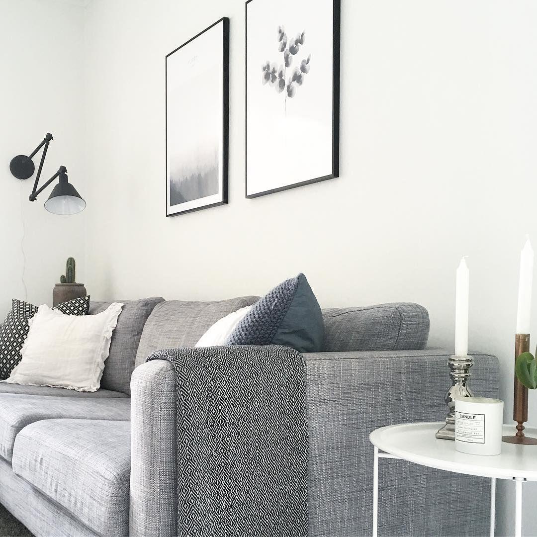 Karlstad Sofa Blekinge White Leather Restoration Cream Ikea Isunda Grå Wiiks Kreativa Pinterest