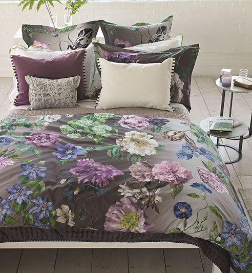 Alexandria Amethyst By Designers Guild Bedding Beddingsuperstore Com Bed Linen Australia Bed Linen Design Online Bedding Stores