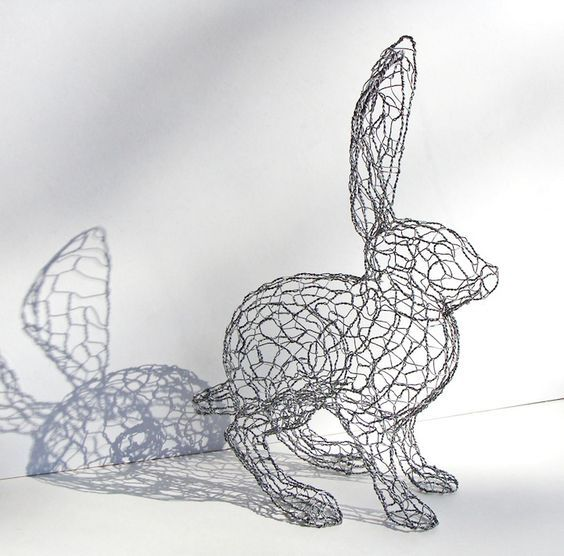 Pin by Michael Dale Bernard on Wire Frame Sculptures | Pinterest ...