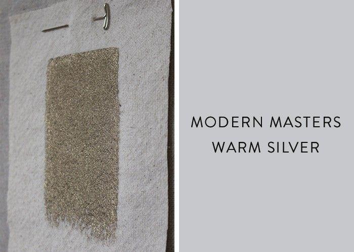 Palettes Paints Modern Masters Metallic Wall Paint Remodelista Metallic Paint Walls Modern Masters Silver Metallic Paint