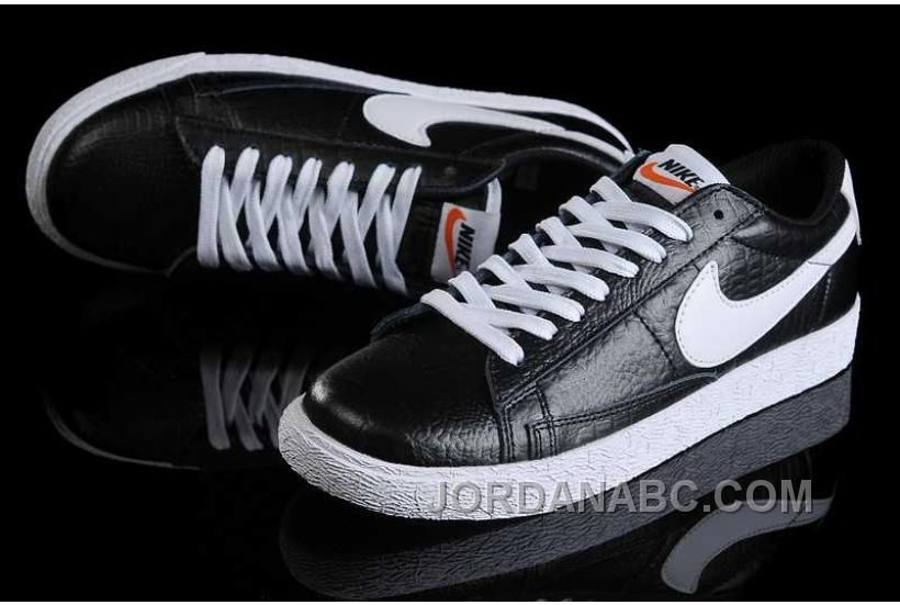 buy popular 8501a 7fb4e Nike Blazer Low Leather Crocodile Womens Black White Shoes, Price 78.00 -  Air Jordan Shoes, New Jordans