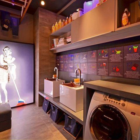 Galeria de fotos com lavanderias projetadas por profissionais de CasaPRO.