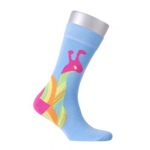 Salyangoz Desenli Buddypa Çorap