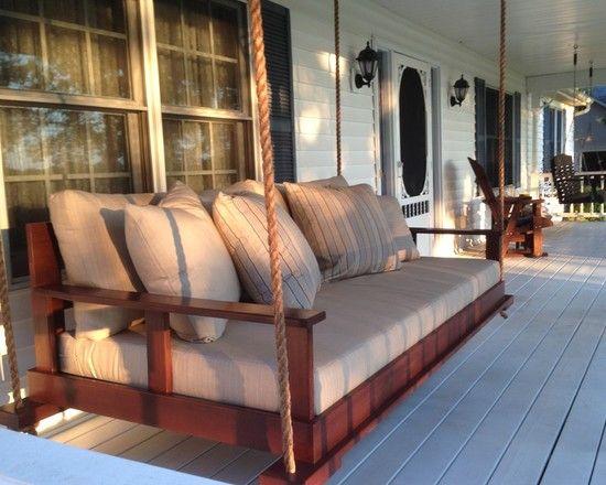 lake cabin furniture. Home Decor, Lake Design With Cool House Furniture Like Hanging Sofa Cabin