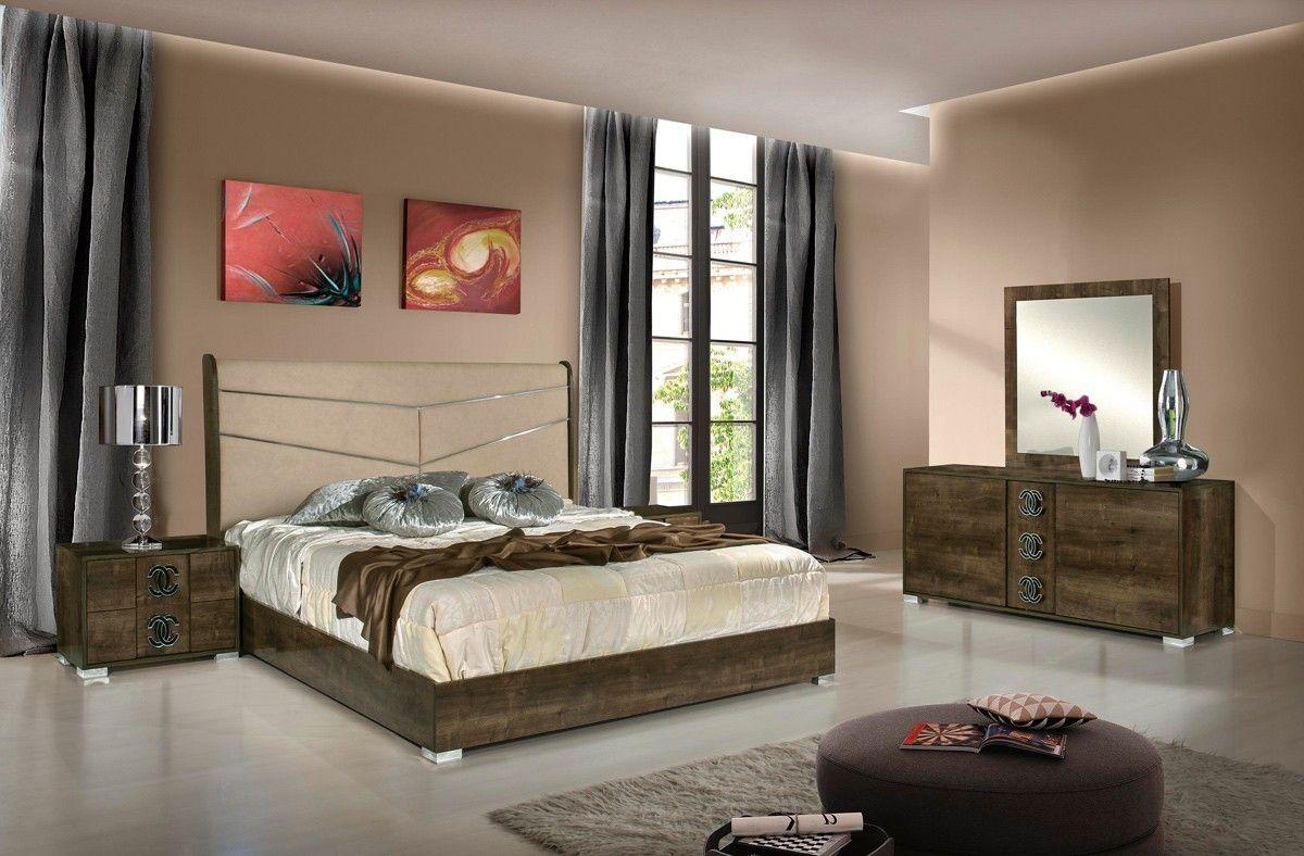 Modrest Athen Italian Modern Bedroom Set