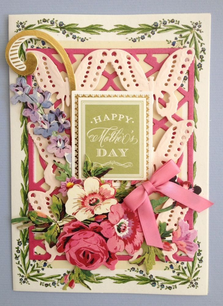 Anna griffin paper crafts happy mothers day handmade