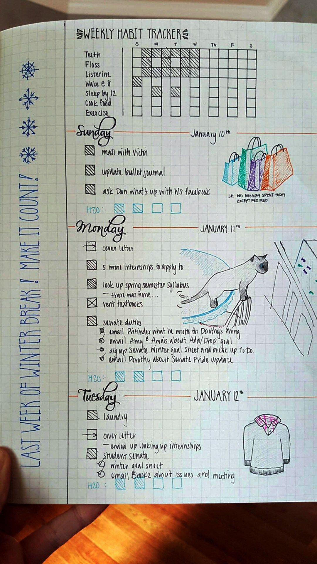 Bullet journal habit tracker notes pinterest carnets de voyage bullet journal et bullet - Idee tracker bullet journal ...