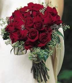 Red Wedding Flowers Brides Ideas Photos Red Wedding Flowers Red Rose Bridal Bouquet Red Rose Wedding Red Bouquet Wedding