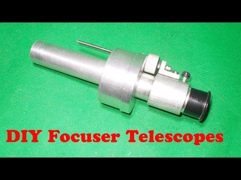 Homemade Refractor Telescope DIY Focuser Eyepiece Binoviewer