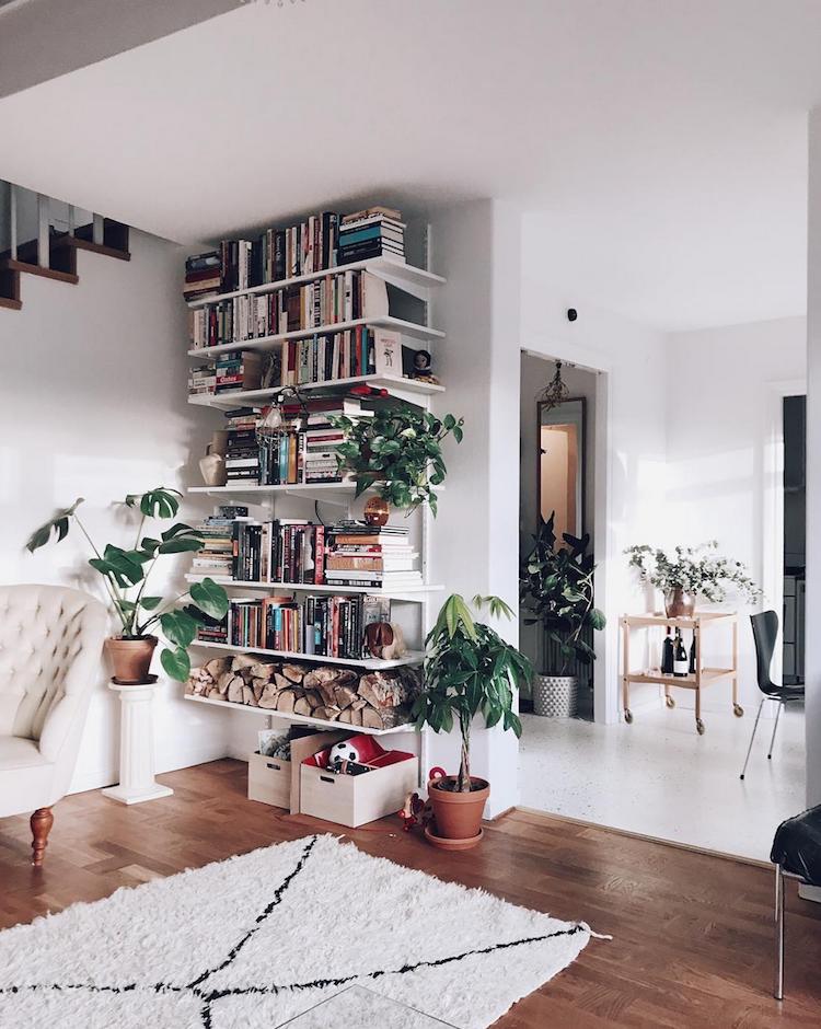 My Scandinavian Home Inside A Relaxed Swedish House From The 50 S Asian Home Decor Scandinavian Bookshelves Home Decor