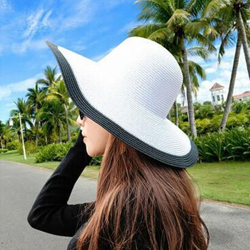 5e8d7273b2f Brand Name  SUOGRY Item Type  Sun Hats Gender  Women Department Name  Adult  Pattern Type  Solid Model Number  hats for women men Material  Straw Style   ...
