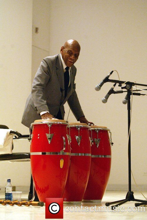 The Afro-Cuban conga player chatted with NPR producer ...