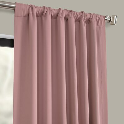Solid Blackout Thermal Grommet Curtain Panels Set Of 2 Room