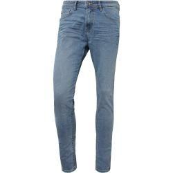 Tom Tailor Denim Herren Conroy Tapered Jeans, blau, unifarben, Gr.36/34 Tom TailorTom Tailor – Street Style