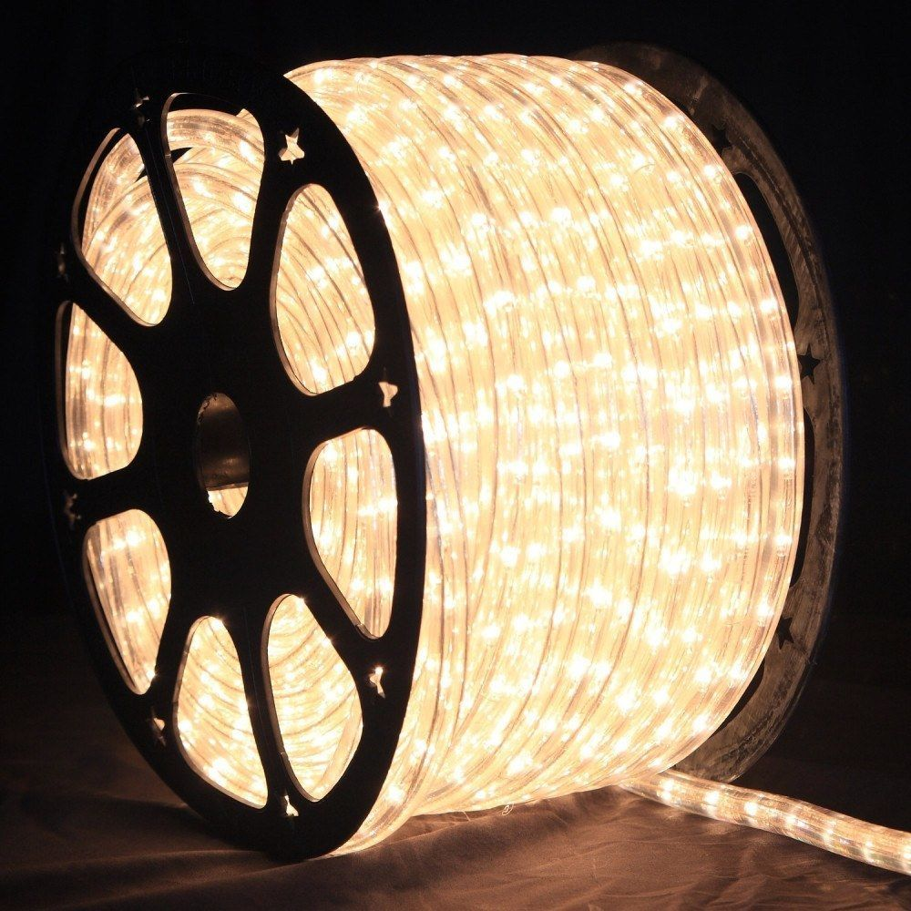 1 2 Inch 150 Ft Led Warm White Rope Light Led Rope Lights Rope Light Led Rope