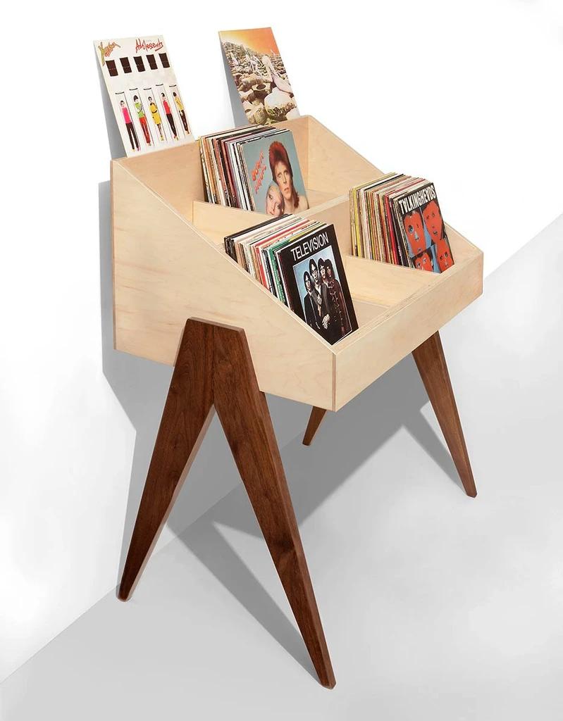 Atocha Design Record Stand Made In Usa Retro Furniture Record Stand Retro Home