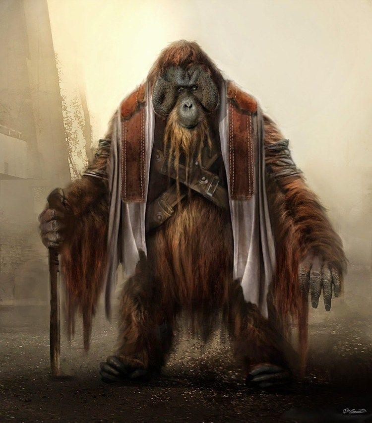 کتاب Planet of the Apes
