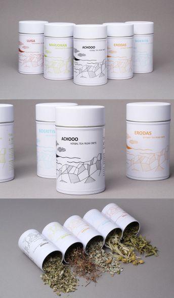 Identity design for the herbal tea company TEAS & TREES. #packaging #tea #herbaltea #herbal #logo #package #design #branding #minimal #elegant | Search by Muzli