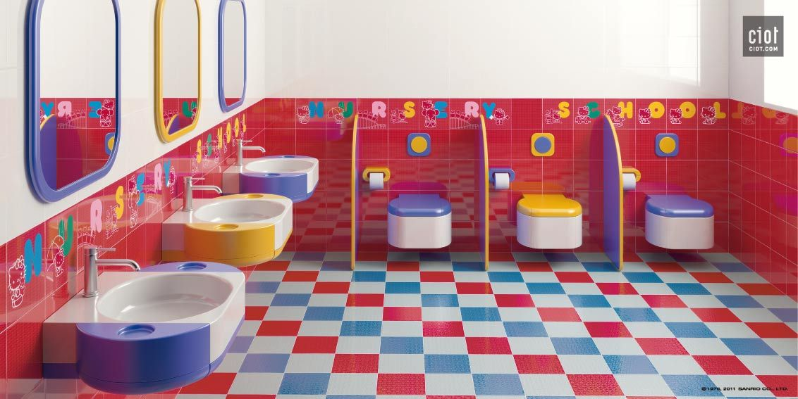 Hello Kitty Bathroom Tiles New Design Inspiration
