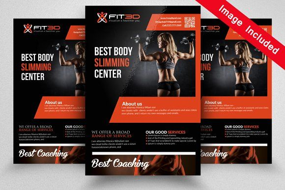 Body Fitness Flyer @creativework247 Templates - Templates