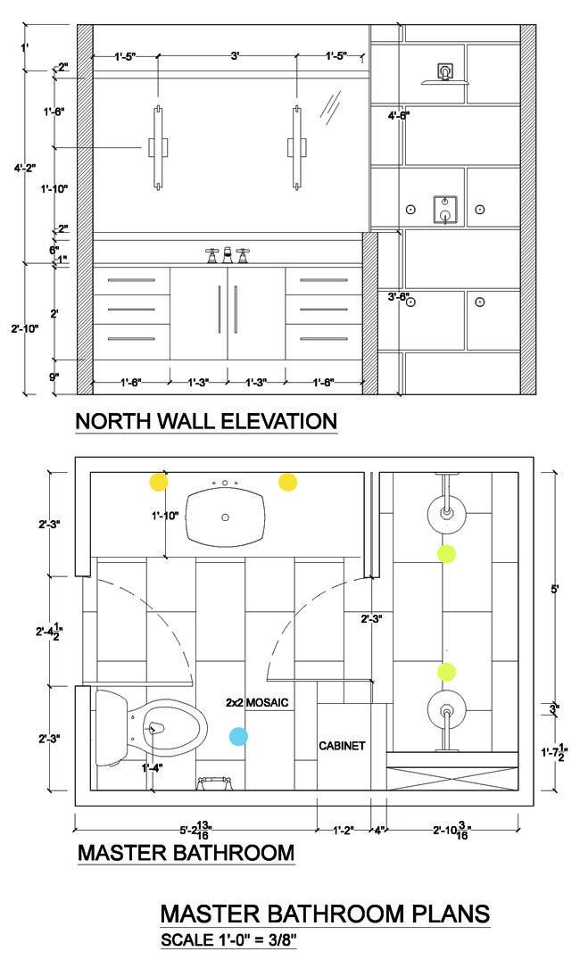 Bathroom Lighting Design Placing Lights On The Mirror Dibujos De Arquitectura Decoracion De Unas Decoracion Para El Hogar