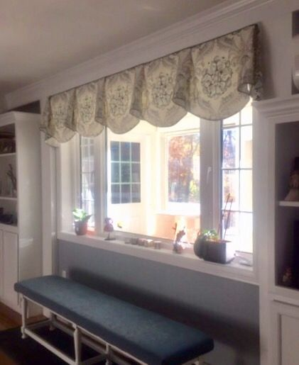 Custom Board Mounted Regal Valance Not Just Curtains Salem Nh