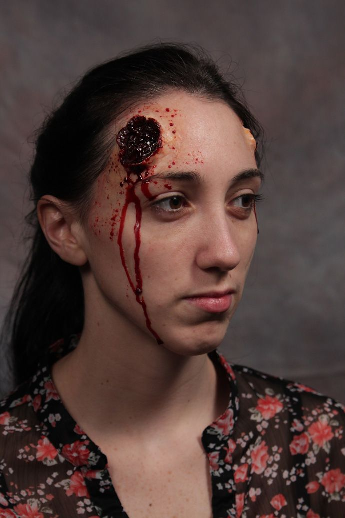 Special Effects Makeup Class Melissa Cell S Blog Special Effects Makeup Makeup Wound Makeup