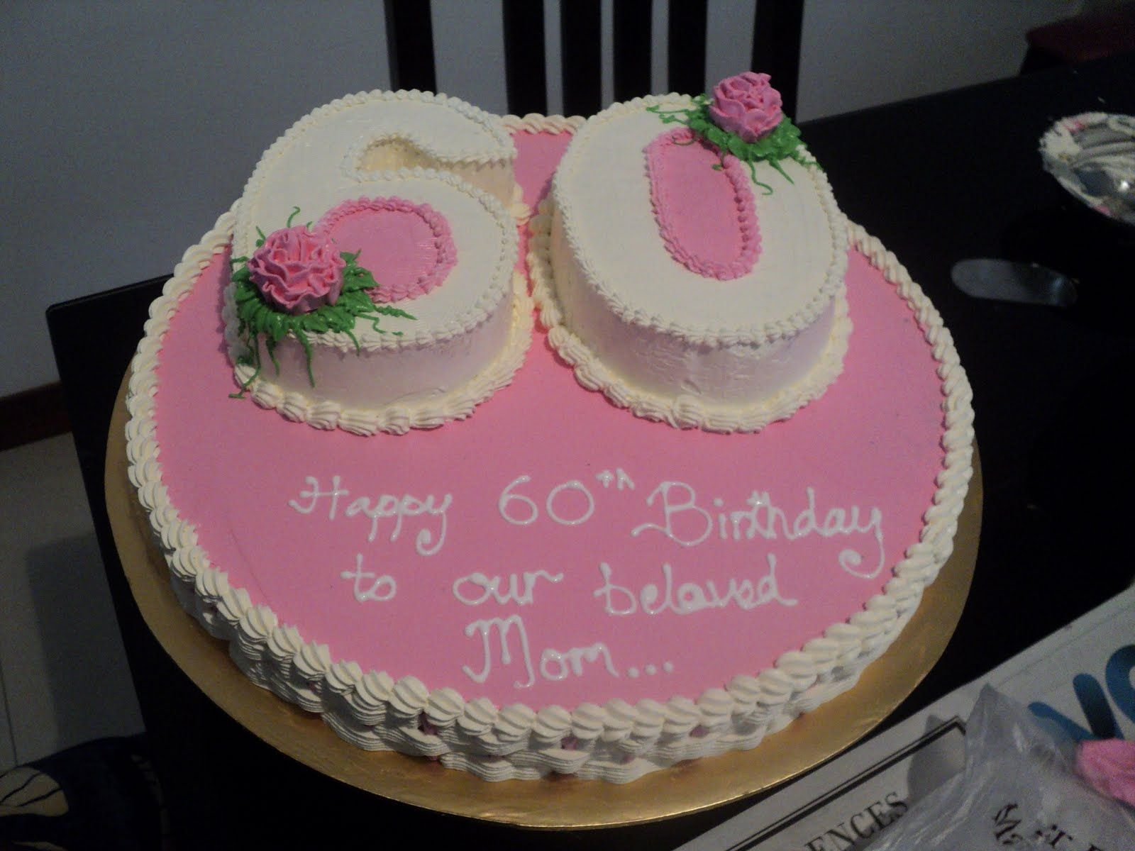 Birthday cake pictures 60th weight 5kg cakes for 60th birthday cake decoration