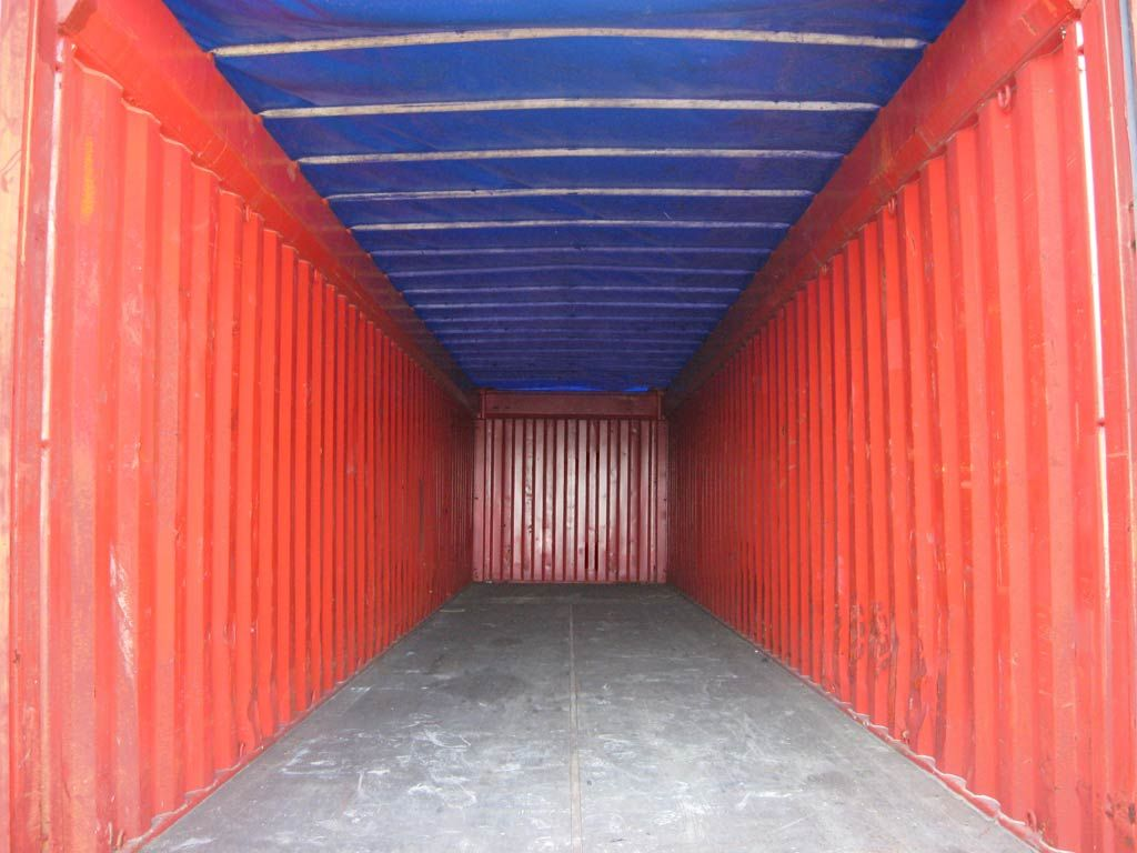 inside container. Shipping ...