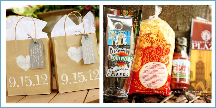 Guest Gift Bags Kc Tribute